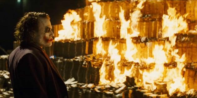 queimar dinheiro na internet